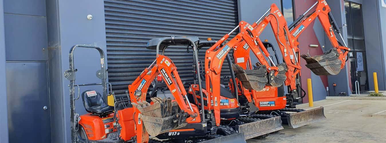 Excavator For Construction Work