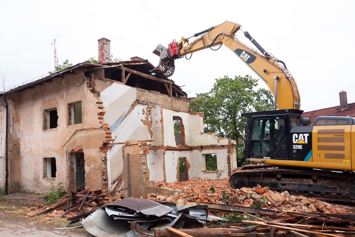 Cheapest Way to Demolish a House