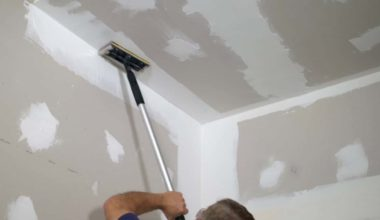 how to finish sheetrock without sanding