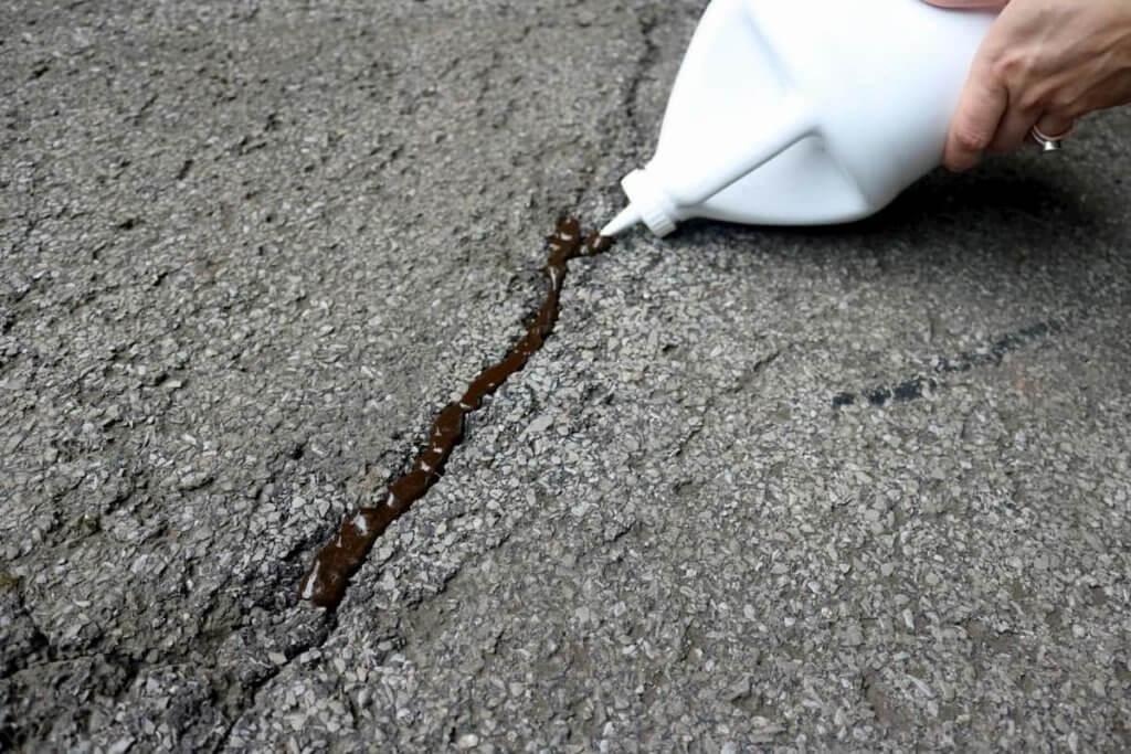 Repairing cracks