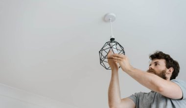 how to install recessed lighting in existing light fixture
