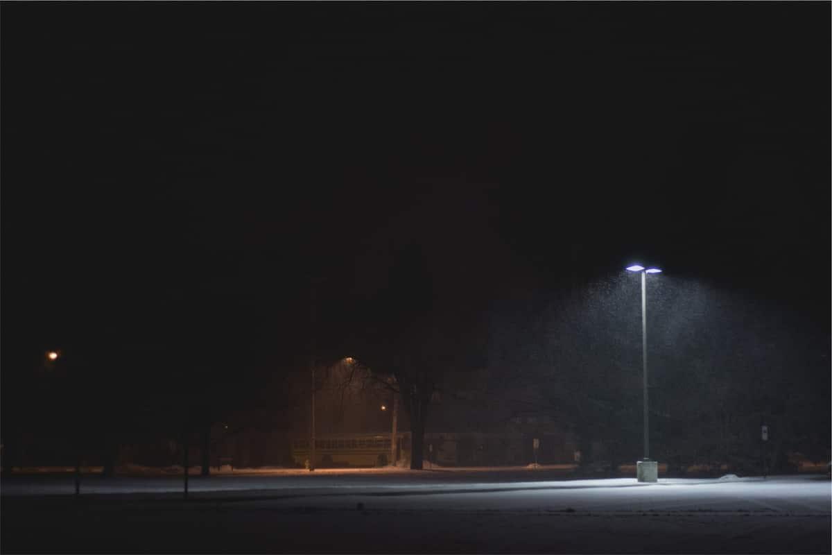 parking lot lighting