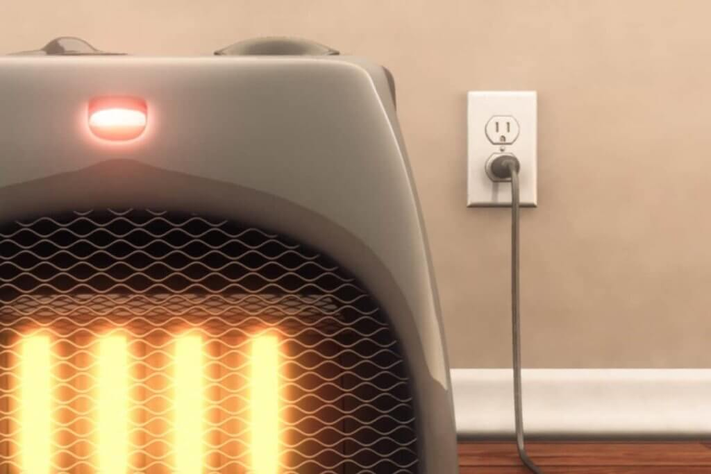 Maintain a level of safety even when using the best energy efficient space heater