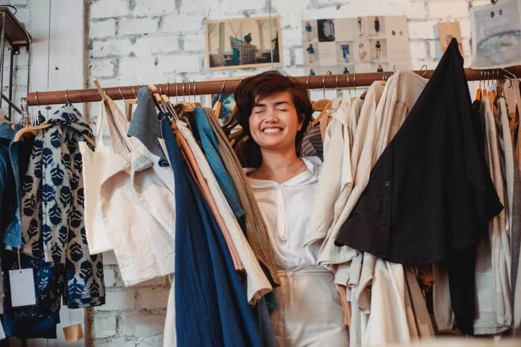 Avoid buying too many clothes