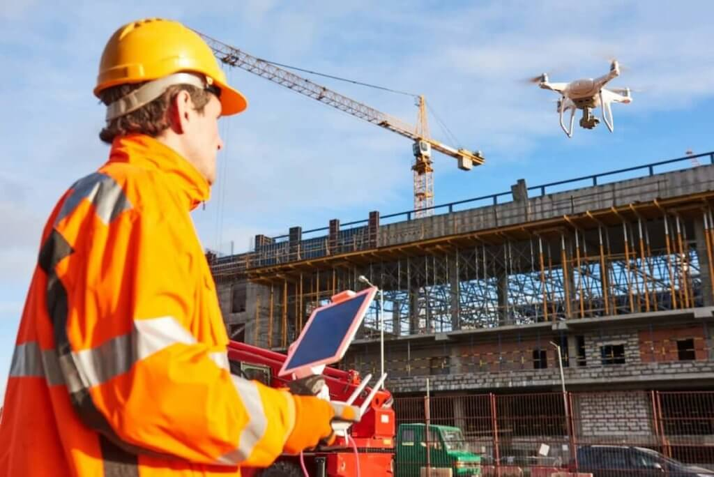 Use of Drones in Construction Numerous Benefits
