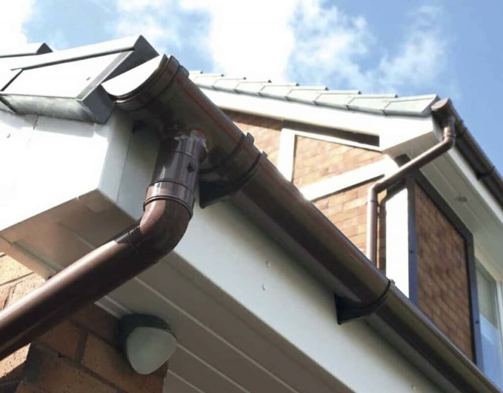 Home Depot – you get the exact guttering system you want