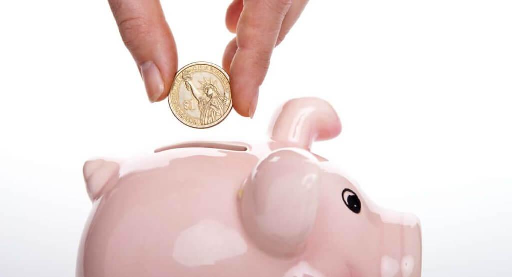 Saving money upfront