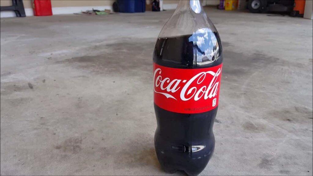 Using coca cola